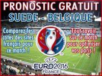 Pronostic Suède Belgique Euro 2016 - Foot