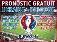 Pronostic Ukraine Pologne Euro 2016 - Foot