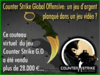 Counter Strike Global Offensive, un jeu d\'argent ?