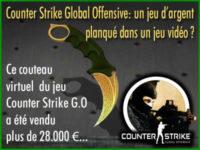 Counter Strike Global Offensive, un jeu d\'argent ?