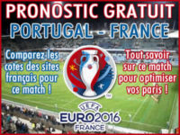 Pronostic Portugal France Euro 2016 - Foot
