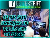 Betters Rift, le premier site français de pari sur l\'e-sport