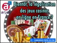 Bientôt, la légalisation des jeux casinos en ligne en France ?