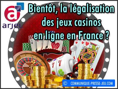 Legalisation des casino en ligne en france