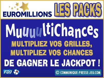 EuroMillions Multichances, multipliez vos chances pour gagner !