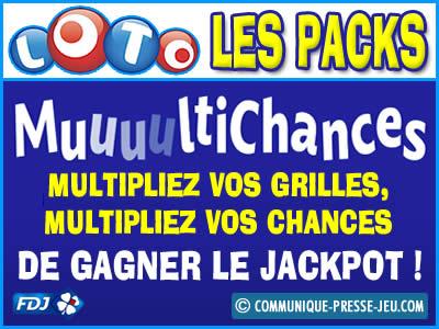 Loto Multichances, jouez à plusieurs pour tenter de gagner !