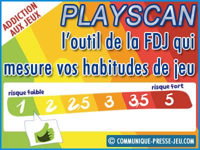 Playscan, l'outil de la FDJ pour prévenir l'addiction aux jeux.