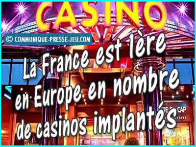 Les casinos en France font partie du patrimoine, eh oui !