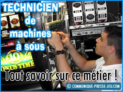 Technicien de machines à sous, en quoi consiste ce métier ?