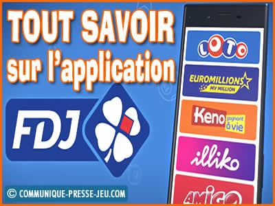 Application FDJ sur mobiles, jouez n'importe où quand vous voulez !