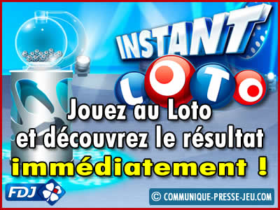 Instant Loto, la loterie de la FDJ immédiate !