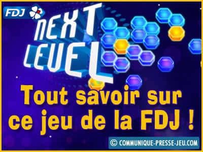 Next Level, le jeu de la FDJ où vous pouvez gagner 260 000 € !