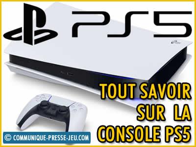 Playstation 5 , tout savoir sur cette nouvelle console !