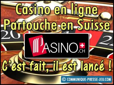 Casino en ligne Partouche en Suisse, c'est fait, il est lancé !