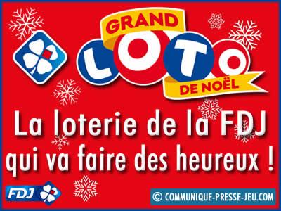 Grand Loto de Noël, la loterie de la FDJ qui va faire des heureux !