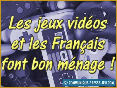 Les jeux vidéos et les Français font bon ménage !