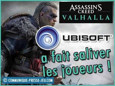 Assassin's Creed Valhalla : Ubisoft a fait saliver les joueurs !