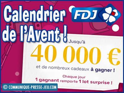 Calendrier de l'Avent FDJ, 25 surprises de folie à découvrir !