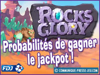 Jeu de grattage Rocks Glory de la FDJ, les probabilités de gagner.