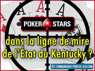PokerStars dans la ligne de mire de l'État du Kentucky ?