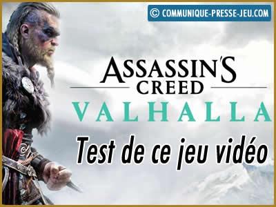 Assassin's Creed Valhalla, notre test de ce jeu vidéo Ubisoft.