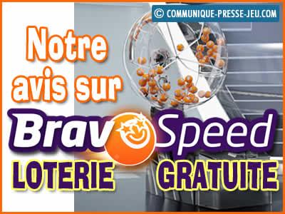 Bravospeed, notre avis sur cette loterie gratuite et comment y jouer !