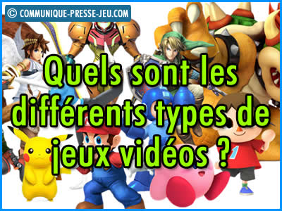 Quels sont les différents types de jeux vidéos (RTS, FPS, F2P, MOBA, MMORPG etc.) ?
