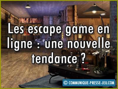 Les escape game en ligne, une nouvelle tendance ?