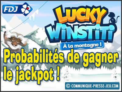 Jeu de grattage Lucky Winstiti à la montagne, les probabilités de gagner !