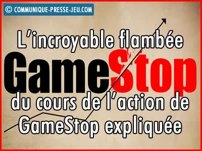 Bourse, l'affaire GameStop : explications de cette incroyable affaire qui a fait la « Une » !