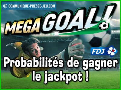 Jeu de grattage Méga Goal de la FDJ, les probabilités de gagner !