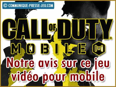 Call of Duty Mobile, notre avis sur ce jeu vidéo.