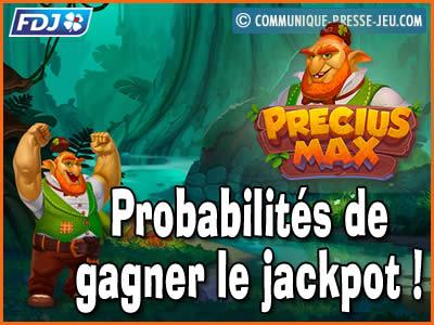 Jeu de grattage Precius Max de la FDJ, les probabilités de gagner !
