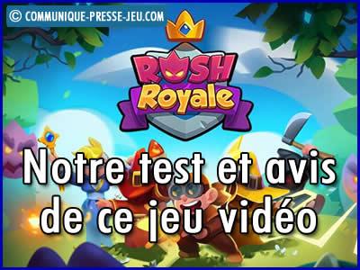Rush Royale sur mobile, notre test et avis sur ce jeu vidéo.