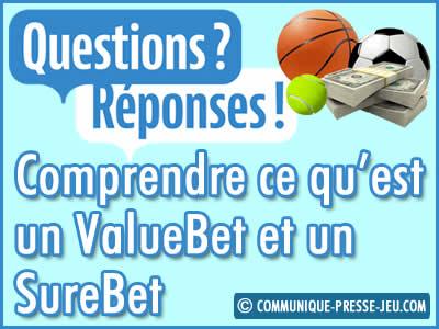 ValueBet et SureBet, qu'est-ce c'est dans les paris sportifs ?