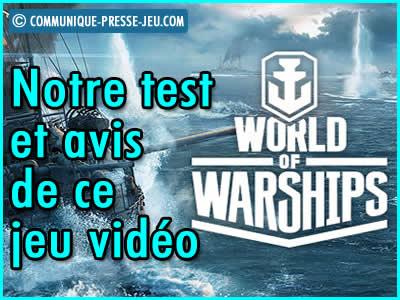 World of Warships, notre test et avis de ce jeu vidéo de guerre navale.