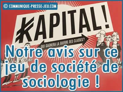 Kapital, notre avis sur ce jeu de société de sociologie incontournable !