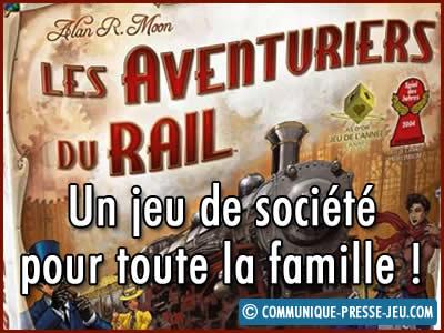 Les Aventuriers du Rail, un jeu de société pour toute la famille !