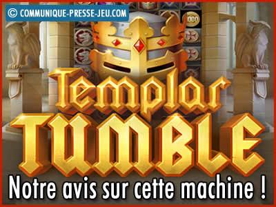 Machine à sous Templar Tumble de Relax Gaming - Avis sur cette slot !