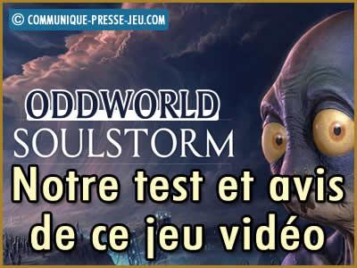 Oddworld Soulstorm, notre test et avis sur ce nouveau jeu vidéo.
