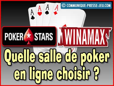 PokerStars ou Winamax, quelle salle de poker en ligne choisir ?