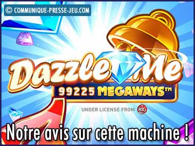 Machine à sous Dazzle Me Megaways de Netent - Notre avis sur cette slot !