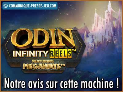 Machine à sous Odin Infinity Reels Megaways de ReelPlay - Notre avis sur cette slot !