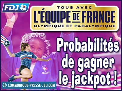 Tous avec l'équipe de France, vos chances de gagner avec ce jeu de grattage.