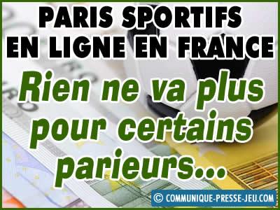 Paris sportifs en ligne, rien ne va plus pour certains parieurs...