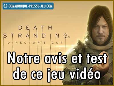 Death Stranding Director's Cut sur PS5, notre avis et test de ce jeu vidéo.